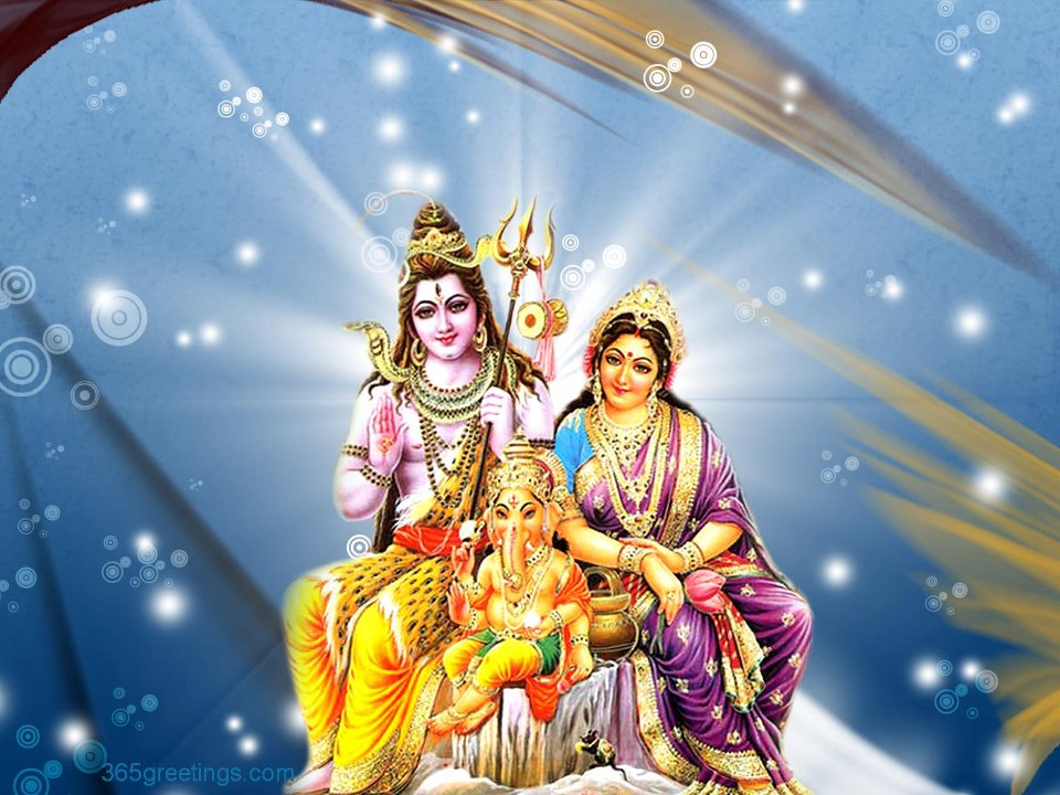 Shiv with Parvati