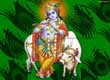 Krishna with Cow Wallpapers