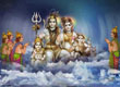 Shiv Family Wallpapers